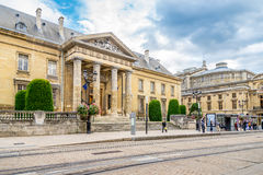 Palace of justice in Reims Stock Photography