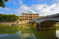 Palace of Justice in Rome, Italy Royalty Free Stock Photography