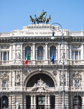 The palace of justice in rome, italy Royalty Free Stock Photography