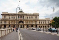 The Palace of justice in Rome Royalty Free Stock Photos