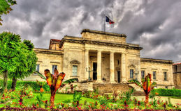 Palace of justice of Saintes - France Stock Photo