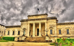Palace of justice of Saintes - France Royalty Free Stock Photo