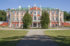 Palace Kadriorg Royalty Free Stock Photos