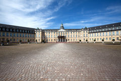 Palace at Karlsruhe Germany Royalty Free Stock Photos