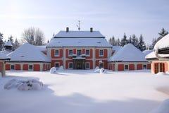 Palace Karlstejn Stock Images