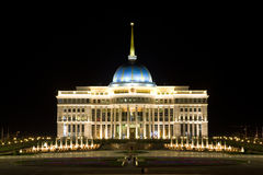 Palace of the Kazakhstan's president in Astana Stock Images