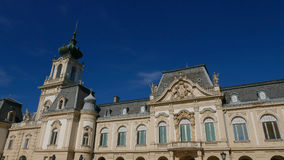The palace in Keszthely on Lake Balaton. Baroque pearl and one of the most beautiful sights of the area Stock Photo