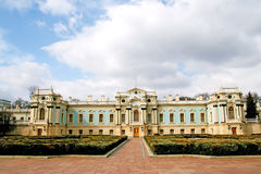 Palace in Kiev Stock Photo