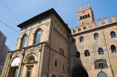 Palace of King Enzo. Bologna. Emilia-Romagna. Italy. Stock Photos