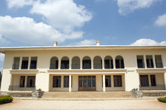 Palace for King Mutara III Rudahigwa in Nyanza Royalty Free Stock Images