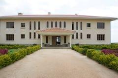 Palace for King Mutara III Rudahigwa in Nyanza Stock Photo