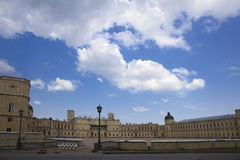 Palace of king Pavel I in Petersburg area Royalty Free Stock Photos