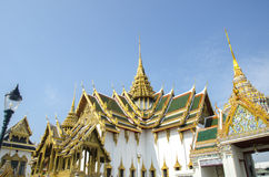 The palace of the king of Thailand. Opened as a tourist destination in Asia. Stock Images