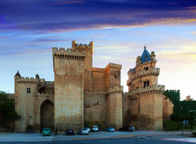 Palace of the Kings of Navarre of Olite Royalty Free Stock Photos