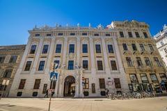 Palace Kinsky in the center of Vienna, Austria Stock Photos