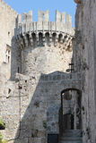 Palace of the knights, Rhodes Royalty Free Stock Image