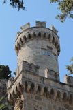 Palace of the knights, Rhodes Royalty Free Stock Photo
