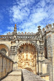 Palace of the Knights Templar in Portugal Royalty Free Stock Images