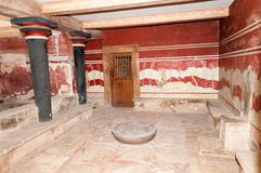 Palace of Knossos Royalty Free Stock Photos
