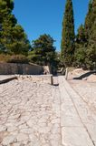 Palace of Knossos Royalty Free Stock Images