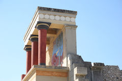 The Palace of Knossos Royalty Free Stock Photos