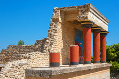 Palace of Knossos. Crete, Greece Stock Photo
