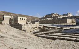 Palace of Knossos in Crete. Greece Stock Image