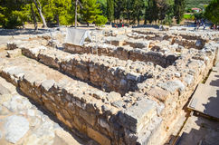 Palace of Knossos, Crete, Greece Royalty Free Stock Photography