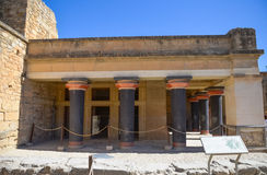 Palace of Knossos, Crete, Greece Royalty Free Stock Images