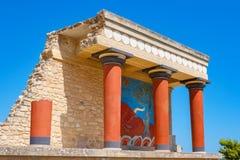 Palace of Knossos. Crete, Greece Stock Image
