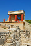 Palace Knossos,Iraklion,Crete. Most importent excavation on island Crete Stock Photography
