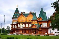 Palace in Kolomenskoye royalty free stock images