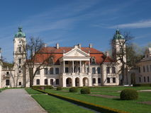 Palace, Kozlowka, Poland Royalty Free Stock Photo