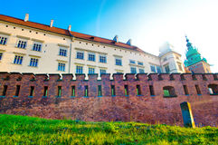 Palace in krakow Stock Image