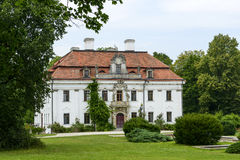 The palace in Kraskow. Royalty Free Stock Photo