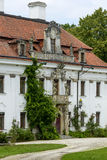 The palace in Kraskow. Stock Image