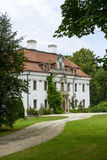 The palace in Kraskow. Royalty Free Stock Image