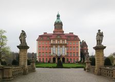 Palace Ksiaz (Furstenstein) - castle in Walbrzych in Lower Silesian Voivodeship, Poland Royalty Free Stock Photos