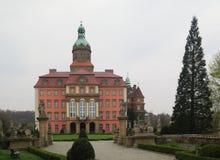 Palace Ksiaz (Furstenstein) - castle in Walbrzych in Lower Silesian Voivodeship, Poland Stock Photography