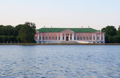 Palace of the Kuskovo estate Stock Images