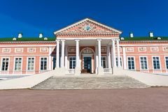 Palace in Kuskovo Stock Photo