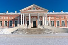 Palace in Kuskovo Royalty Free Stock Image