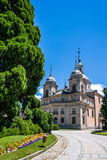 Palace from La Granja de San Ildefonso, Segovia, Spain Royalty Free Stock Images