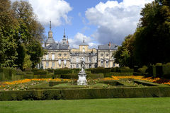 Palace, la granja de San Ildefonso Royalty Free Stock Photos