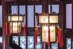 Palace lantern stock photo