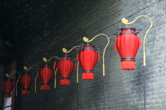 Palace lanterns Royalty Free Stock Photo