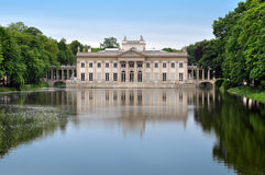 Palace in Lazienki Park. royalty free stock photos