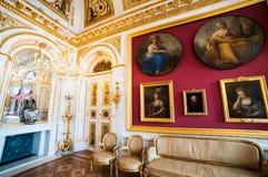 Palace Lazienki Stock Photography