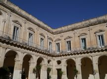 A palace in Lecce in Italy Stock Photos