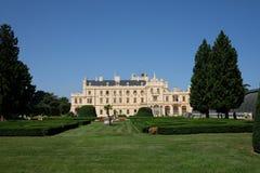 Palace Lednice Stock Photography